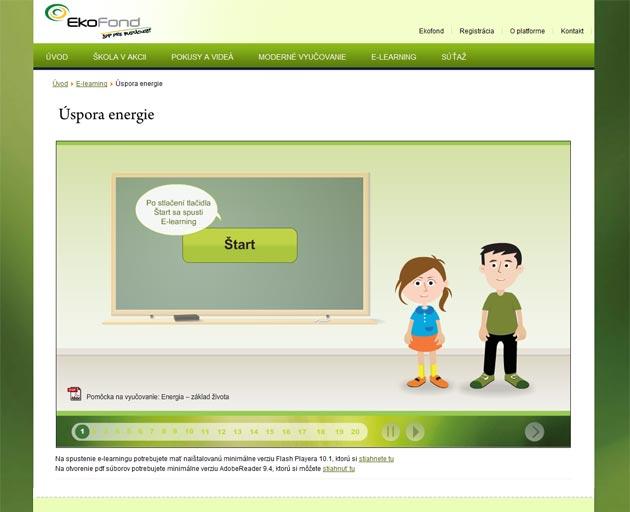 Náhľad online elearningu pre učiteľov ZŠ